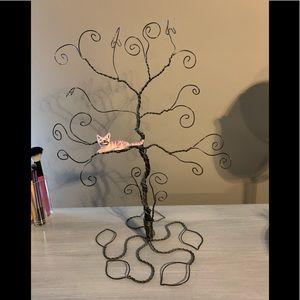 Cheshire Cat jewelry tree